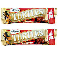 Save $1 on two DeMet's Turtles 3-piece pack Candy Bars