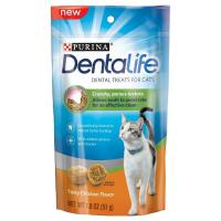 Save $1 on one bag of Purina Dentalife Cat Treats