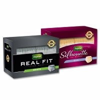 Print a coupon for $2 off one pack of Depend Real Fit or Silhouette