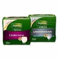 Print a coupon for $2 off any Depend Underwear for Men or Women