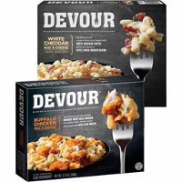 Print a coupon for $1.50 off any two Devour Frozen Entrees