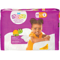 Save $1 on one Mega Pack of Dollar General Baby Premium Diapers