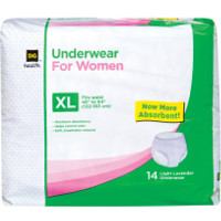 Save $1 on one package of Dollar General Health Protective Underwear, 14 count or larger