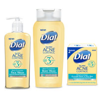 Save $1 on two Dial Acne Control products