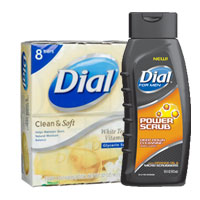 Save $1 on any two Dial or Dial for Men Body Wash or Bar Soap