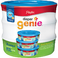 Print a coupon for $2 off one Playtex Diaper Genie Multi-Pack Refill