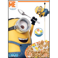 Print a coupon for $0.40 off a box of Kellogg's Despicable Me Minion Made Cereal