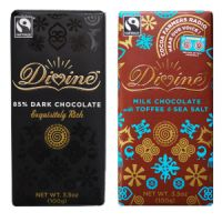 Print a coupon for $1 off two Divine Chocolate Bars