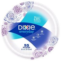 Print a coupon for $1 off two packages of Dixie plates