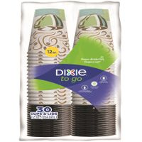 Print a coupon for $0.50 off a package of Dixie To Go Cups, 30ct. or larger