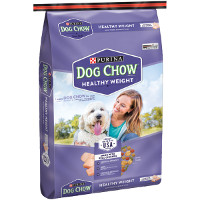 Print a coupon for $2 off Purina Dog Chow Healthy Weight, 16.5lbs or larger