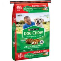 Print a coupon for $2 off a 18.5 lb or larger bag of Purina Dog Chow Dry Dog Food
