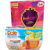Print a coupon for $1 off two Dole Fruitocracy or Fruit Bowls