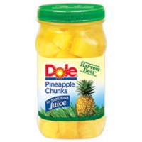 Save $1.25 on two cans of Dole Jarred Fruit