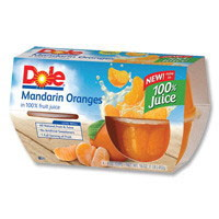 Save $1 on any 2 Dole Fruit Bowls in Gels