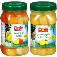 Print a coupon for $1.75 off any two jars of Dole Fruit
