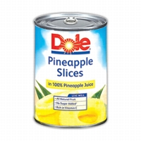 Print a coupon for $0.65 off two 8 or 11 oz cans of Dole Fruit