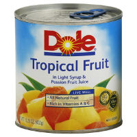 Save $0.40 on one can of Dole Mandarin Oranges or Tropical Fruit