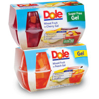 Save $1.05 on any two packs of Dole Fruit Bowls in Gel