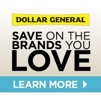 Get $10 off at DollarGeneral.com