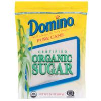 Print a coupon for $0.50 off a Domino Organic Raw Cane or Demerara Cane Sugar product