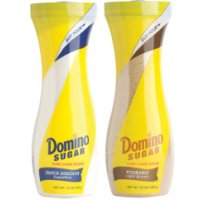 Save $0.65 on Domino Quick Dissolve Superfine or Pourable Brown Flip Top Package