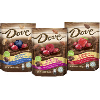Save $1 on any two bags of Dove Fruit + Nut Chocolates, 5.5oz or larger