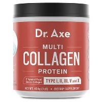 Print a coupon for $5 off any Dr. Axe Multi Collagen Protein product