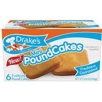 Print a coupon for $1.50 off one Drakes Cookies + Creme Brownies or Mini Pound Cakes product