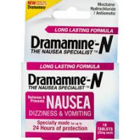 Print a coupon for $2 off one Dramamine-N product
