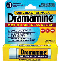 Save $1 on any Dramamine Product, 8ct. or higher