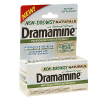 Save $1 on one Dramamine Non-Drowsy Naturals product