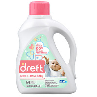 Save $2 on one bottle of Dreft Stage 2: Active Baby Laundry Detergent