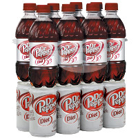 Save $0.50 on an 8-pack of Diet Dr. Pepper, 12oz. bottles or 7.5oz. cans