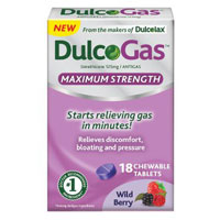 Save $3 on one box of DulcoGas, 18 ct. or larger