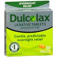 Save $1 on one box of DulcoLax Laxative tablets