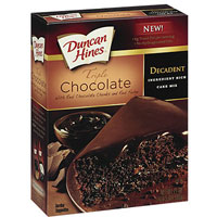 Save $0.75 on any Duncan Hines Decadent Cake Mix