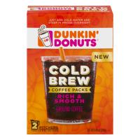 Print a coupon for $1.50 off any Dunkin' Donuts Cold Brew product