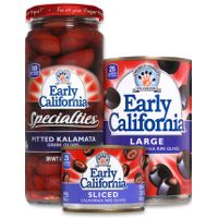 Print a coupon for $1 off any two Early California Olives products