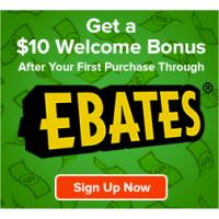 Get a $10 gift after you use Ebates.com - Plus get up to 25% Cash Back