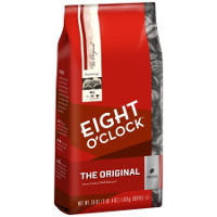 Print a coupon for $3 off a bag of Eight O'Clock Coffee, 32 oz or larger