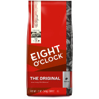 Save $1 on a bag of Eight O'Clock Coffee, 11 oz or larger