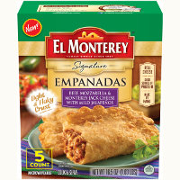 Print a coupon for $1 off El Monterey Signature or Breakfast Empanada Multi-Pack