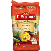 Print a coupon for $1 off El Monterey Breakfast Signature Multi-Pack Burritos