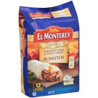 Print a coupon for $1 off El Monterey Signature 10 or 12 pack Burritos or Chimichangas