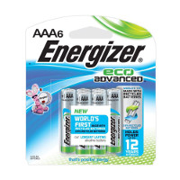 Save $0.90 on any pack of Energizer EcoAdvanced Batteries