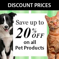Save 20% on all pet products at Entirely Pet Stuff