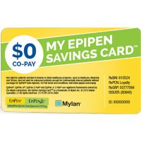 Save on your EpiPen Auto-Injector Prescription - $0 Co-pay Offer
