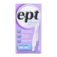 Save $3 on any e.p.t. Pregnancy Test