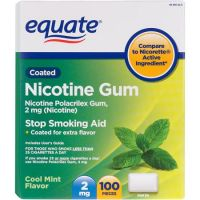 Save $10 on Equate Nicotine Gum or Lozenge at Walmart